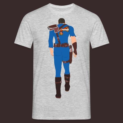 PP tatted Vault suit - Men's T-Shirt