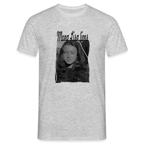 Mona Lisa lives - Männer T-Shirt