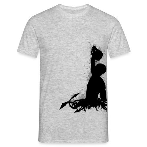 kettlebell logos - Maglietta da uomo
