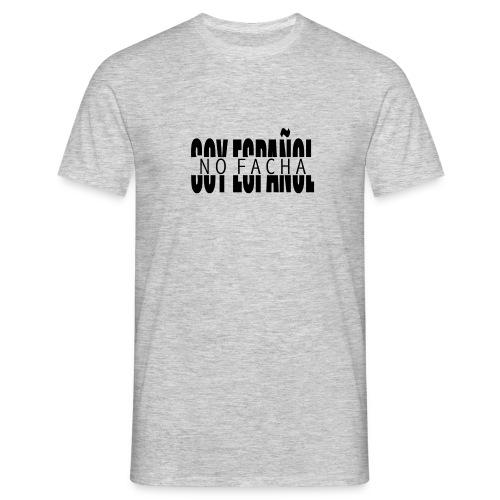 soy español no facha patriots - Camiseta hombre
