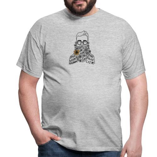 UPRAWIAM OSIĘDBANIE, NIE NARCYZM - KOLOR - Koszulka męska