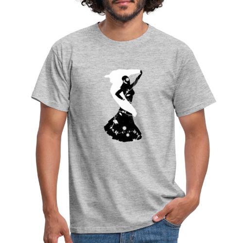 Bellydancer with veil - Men's T-Shirt