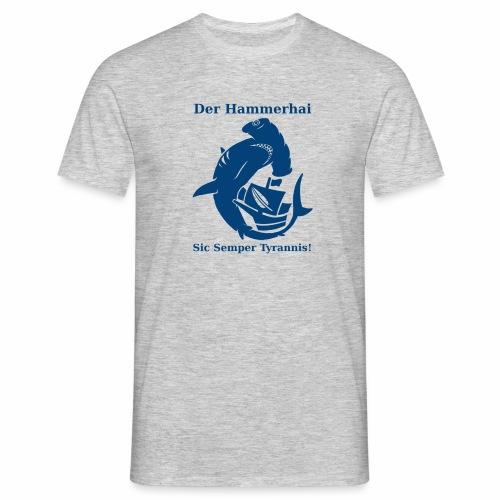 hammerhai blau - Männer T-Shirt