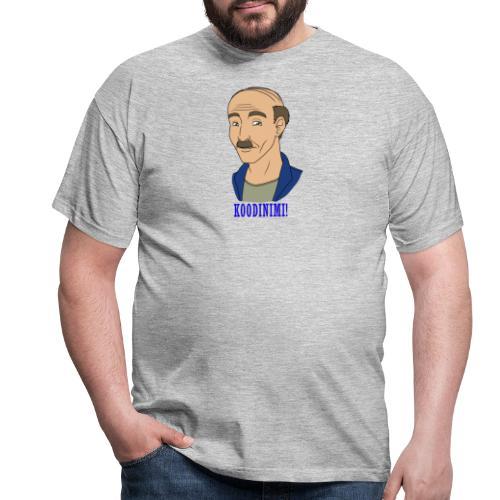 KOODINIMI - Miesten t-paita