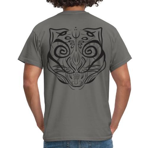 The Parvati Cat by Stringhedelic - Black - Men's T-Shirt