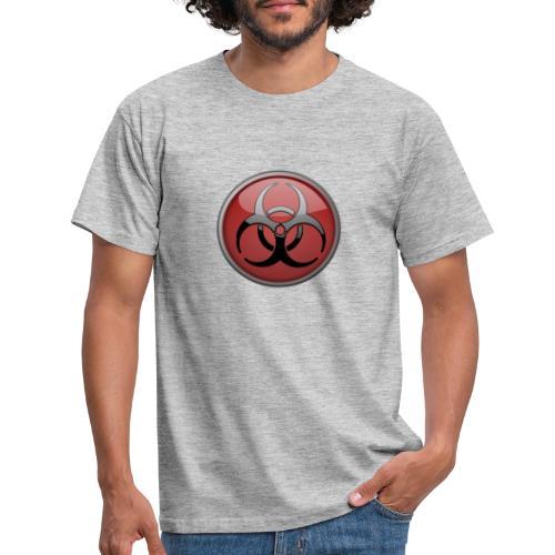 DANGER BIOHAZARD - Männer T-Shirt