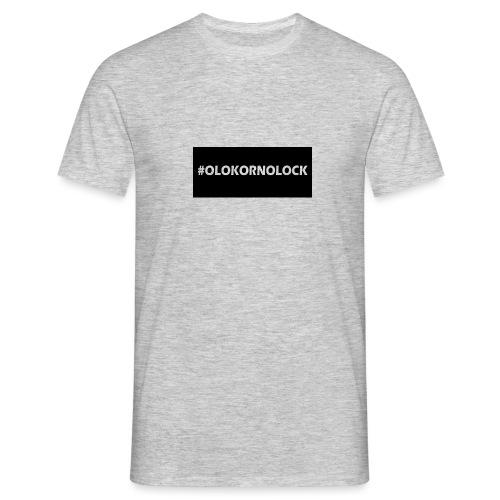 #OLOKORNOLOCK - T-shirt herr