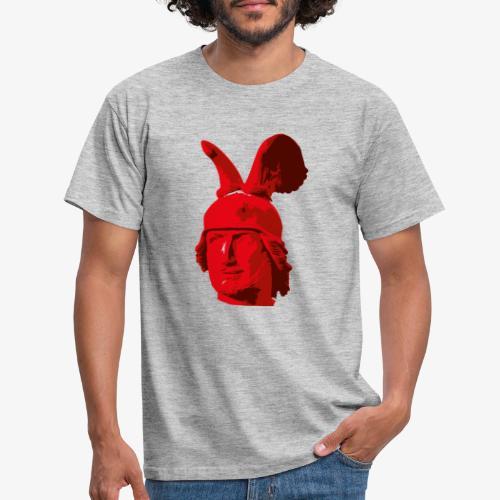 Kopf des Hermannsdenkmals - Männer T-Shirt