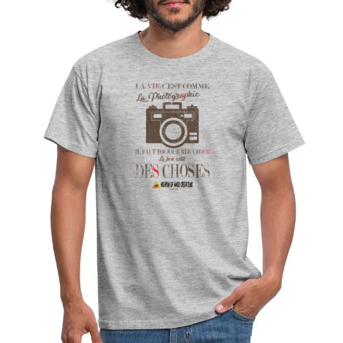 WEAPON OF MASS CREATIONS - La vie - T-shirt Homme
