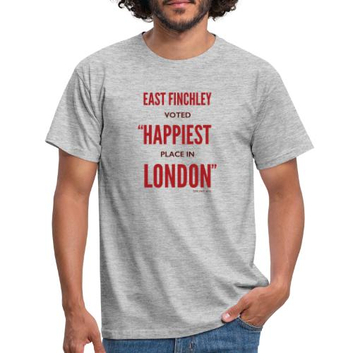 East Finchley Happiest Place in London - Men's T-Shirt