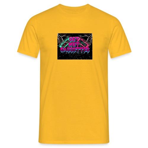 get wet cassettes - Miesten t-paita