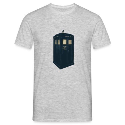 Tardis Doctor Who - Men's T-Shirt