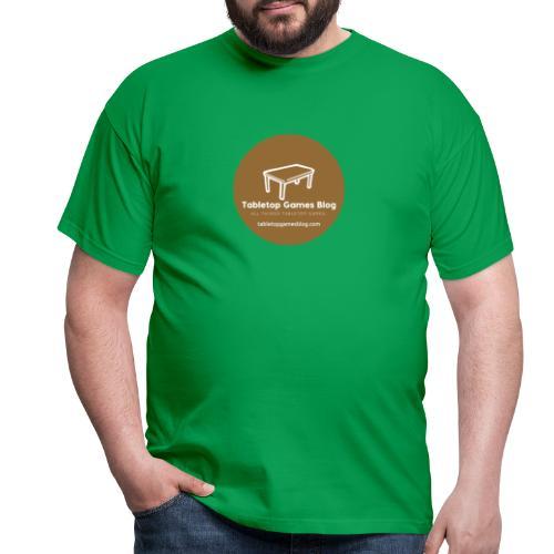 Circle Logo Brown - Men's T-Shirt