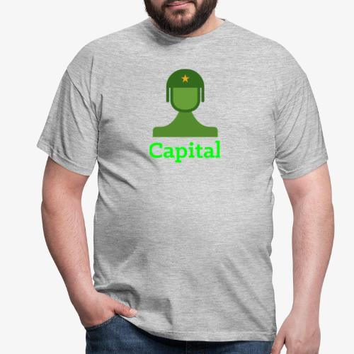 Capital - Männer T-Shirt