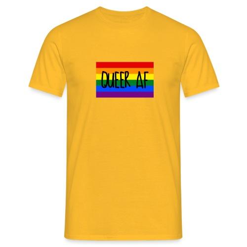 queer af - Männer T-Shirt