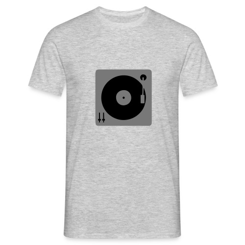 Vinyl_Deck - Männer T-Shirt