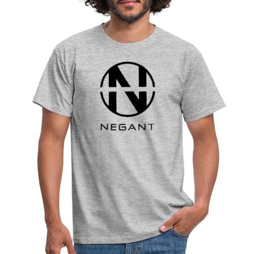 Black Negant logo - Herre-T-shirt