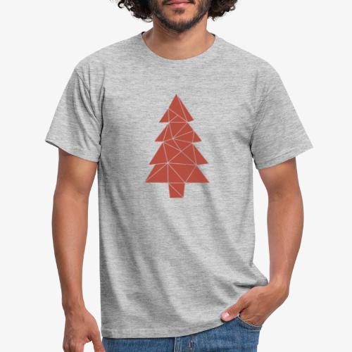 Tannenbaum Weihnachten - Männer T-Shirt