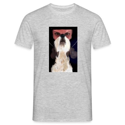 She and jack russell terrier - Koszulka męska