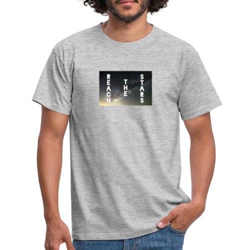 Reach the Stars Desing - Männer T-Shirt