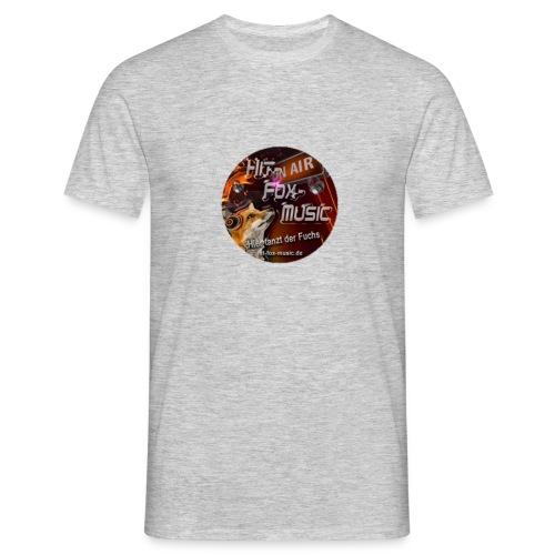 hitfoxmusic - Männer T-Shirt