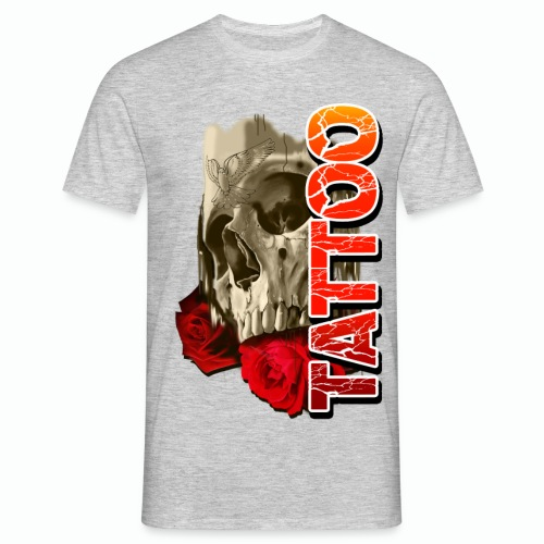 SKULL TATTOO - Men's T-Shirt