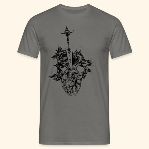 la nature du coeur - T-shirt Homme