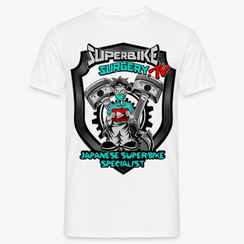 Superbike Surgery TV - Men's T-Shirt