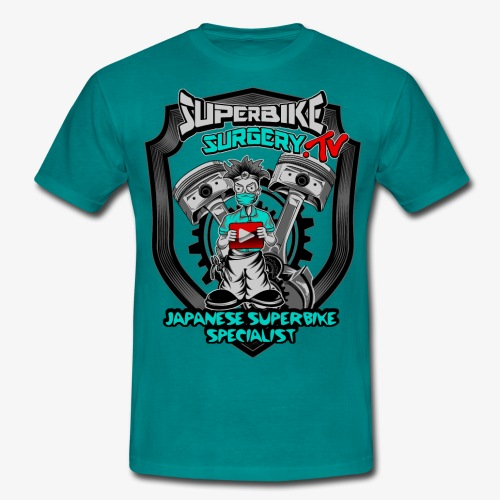 Superbike Surgery TV - Men's T-Shirt