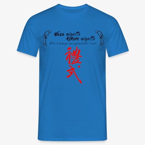 'Waza migaitte, Kokoro migaitte'' - T-shirt Homme