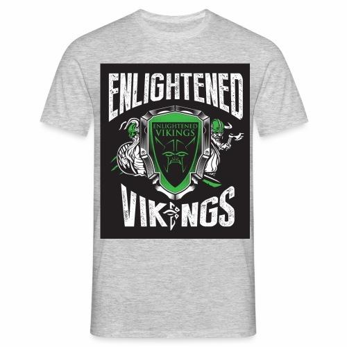 Enlightend Vikings - T-skjorte for menn