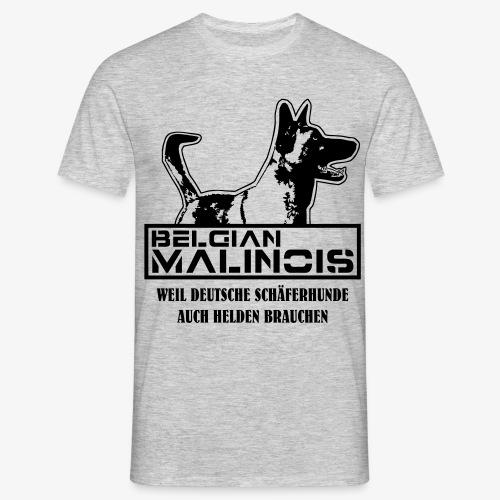 Malinois Helden - Männer T-Shirt