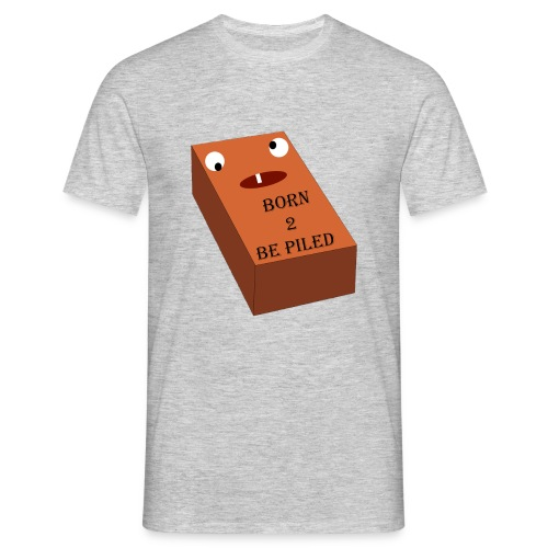 Brick Life - Mannen T-shirt