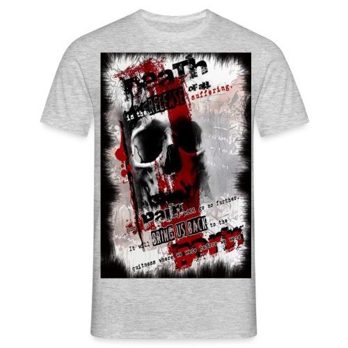 Polka Trash Tattoo - Männer T-Shirt