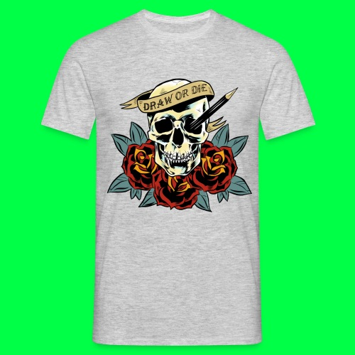 draw or die - T-shirt Homme