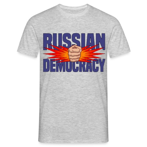Russian Democracy png - Men's T-Shirt