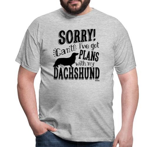 Plans Doxie LH B - Miesten t-paita
