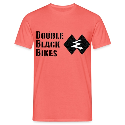 DOUBLE BLACK BIKES - Camiseta hombre