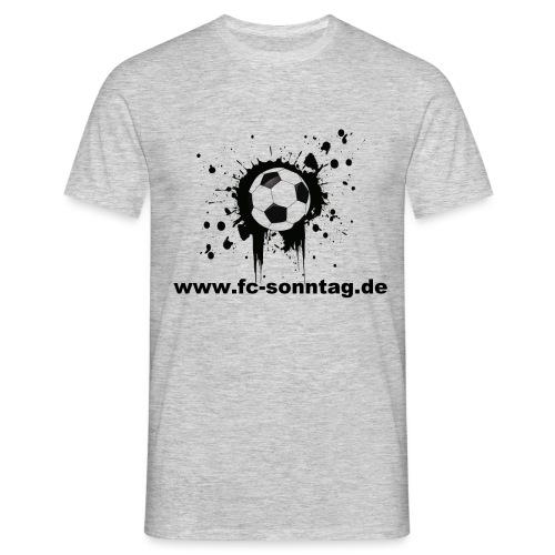 FC Sonntag Ball - Männer T-Shirt