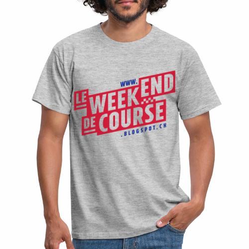 le week-end de course - Logo - Vert - T-shirt Homme