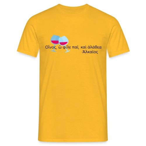 Alceo - Maglietta da uomo
