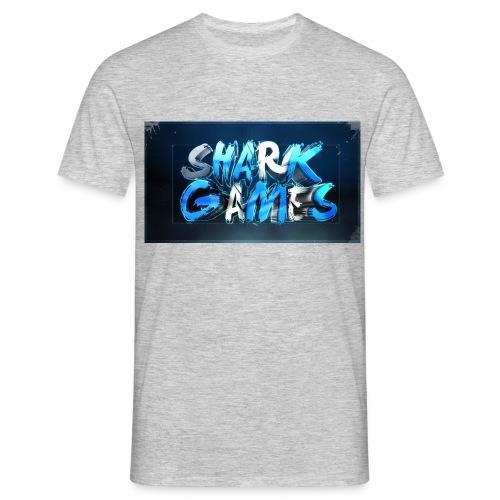 SharkGames - Maglietta da uomo