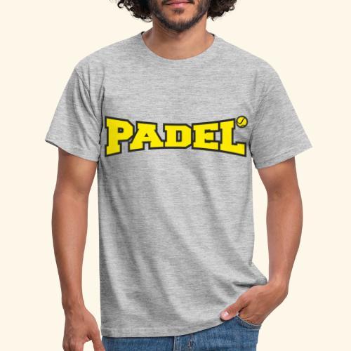 padel amarillo y negro - Camiseta hombre