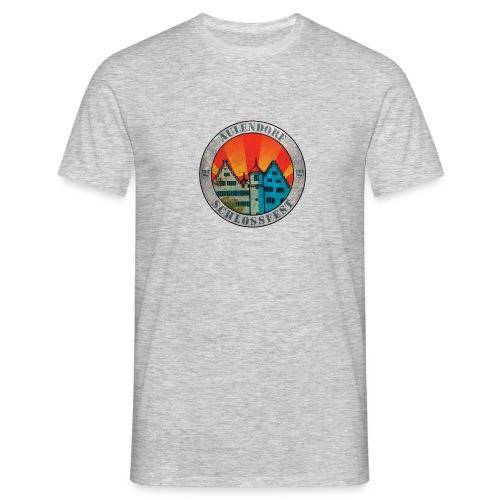 Schlossfest Shirt Grunge - Männer T-Shirt