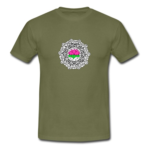Lotus Flower Mandala - Men's T-Shirt