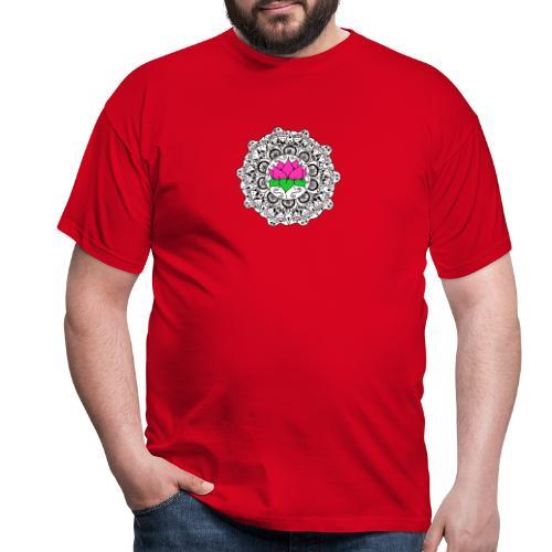 Lotus Flower Mandala - Men's T-Shirt