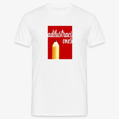 Ad ilustraciones Rojo - Camiseta hombre