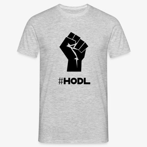 HODL-fist-b - Men's T-Shirt