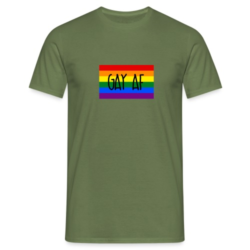 gay af - Männer T-Shirt