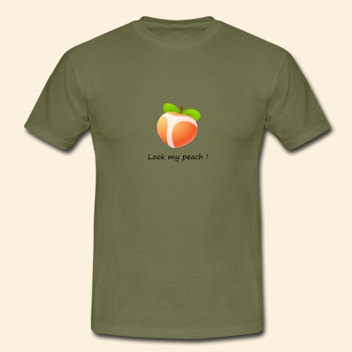 Look my peach - T-shirt Homme